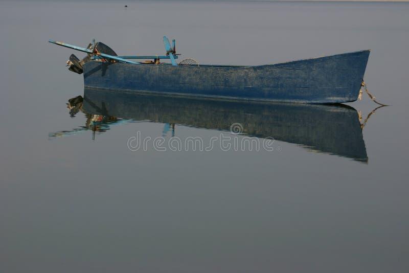 Boot 2 van het meer royalty-vrije stock afbeeldingen