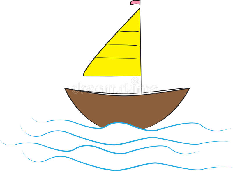 Boot stock illustratie