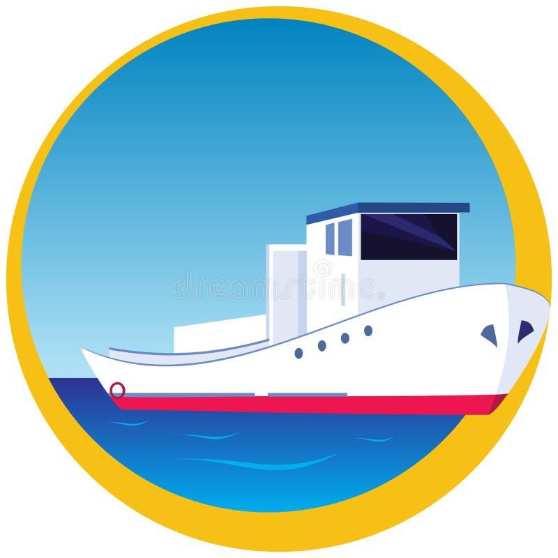 Boot lizenzfreie abbildung