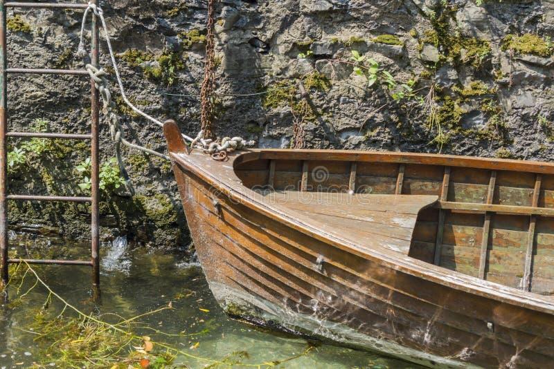 Boot auf See lizenzfreies stockfoto