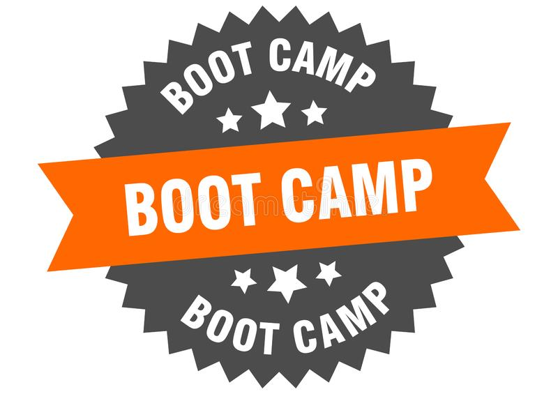 Boot Camp stock de ilustración