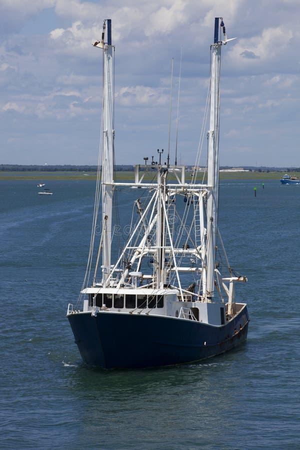 Boot der kommerziellen Fischerei lizenzfreie stockfotos