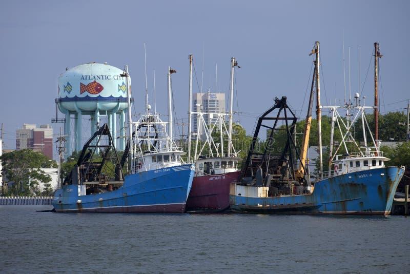 Boot der kommerziellen Fischerei stockfotografie