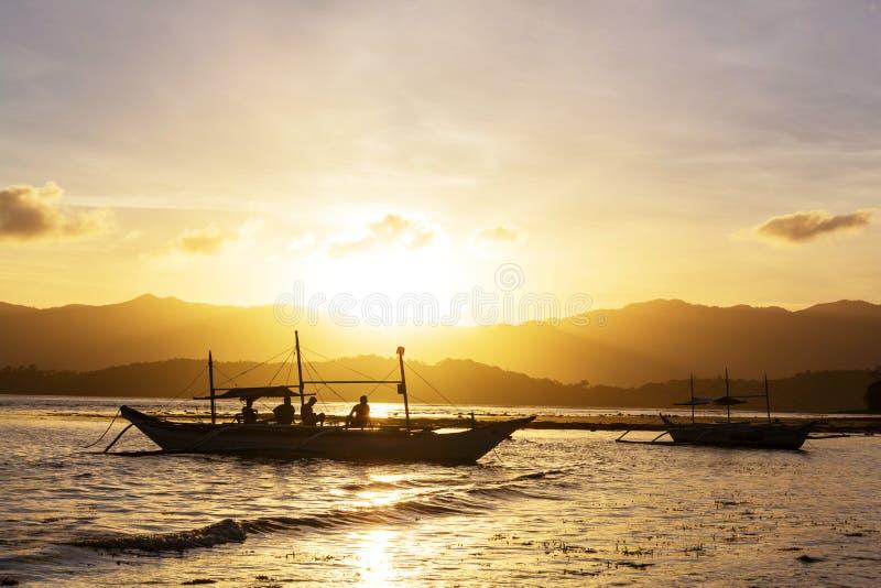 Boot in Filippijnen royalty-vrije stock fotografie