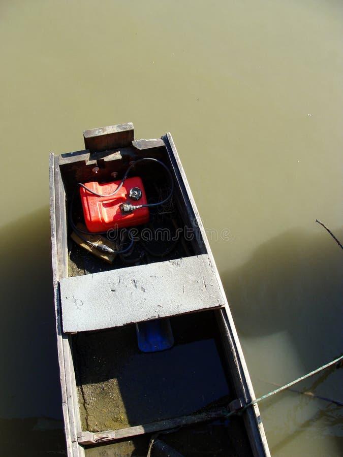 Boot ohne Maschine stockfotos