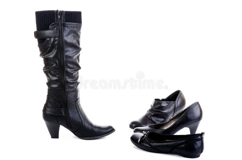 Download Boot and shoes stock photo. Image of femininity, isolated - 21960468
