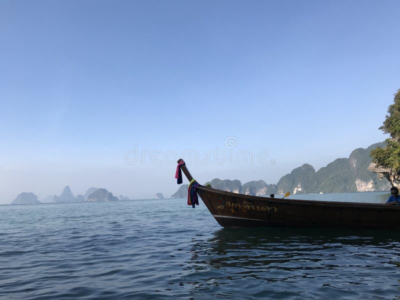 Boot in Thailand stock fotografie