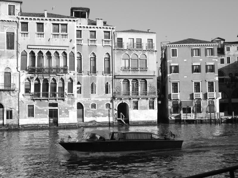 Boot in Venetië royalty-vrije stock foto