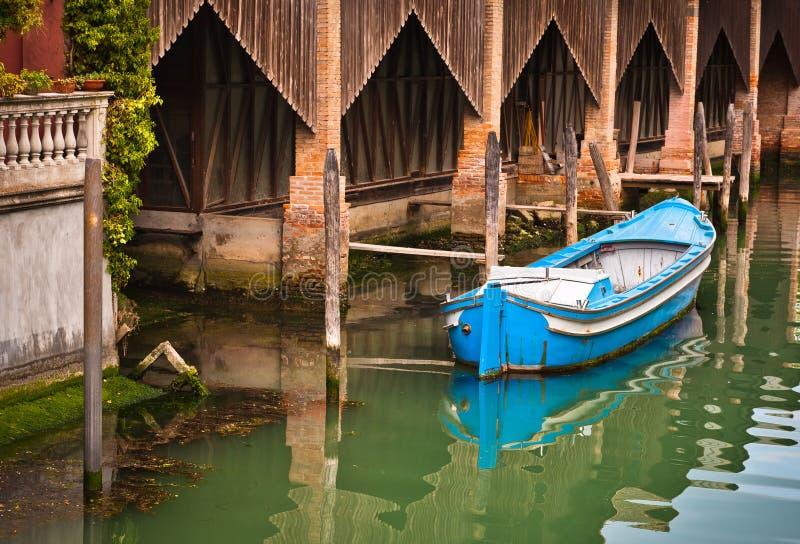 Boot in Venetië royalty-vrije stock fotografie