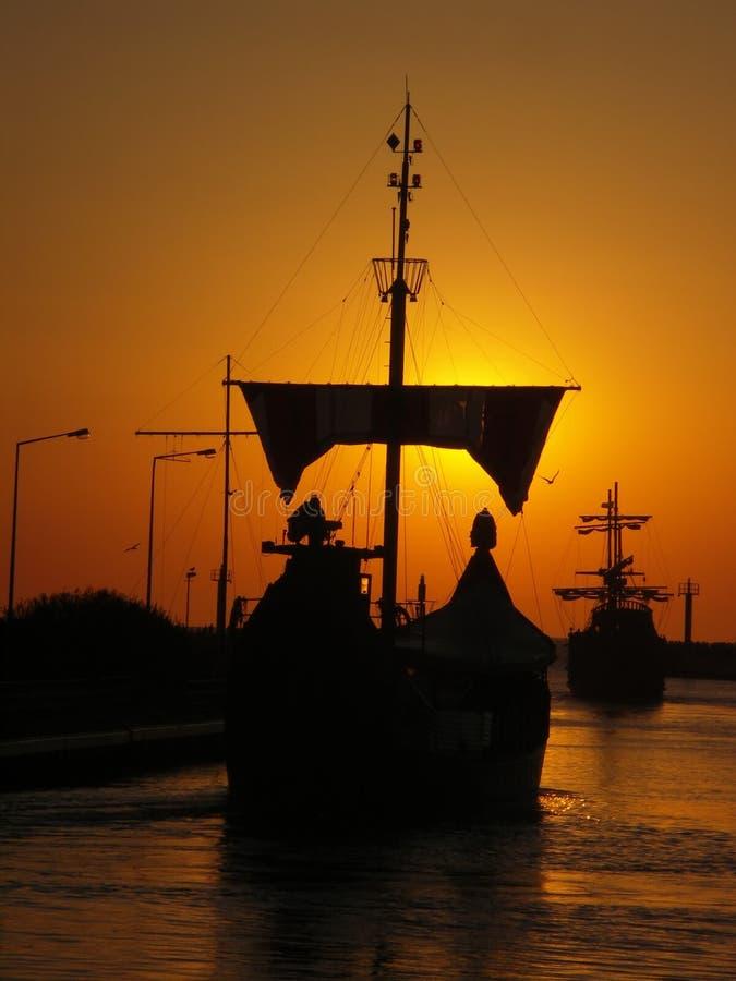 Boote. lizenzfreies stockbild