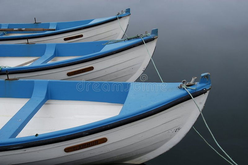 Download Boote stockfoto. Bild von gebunden, blau, paddel, boote - 42870