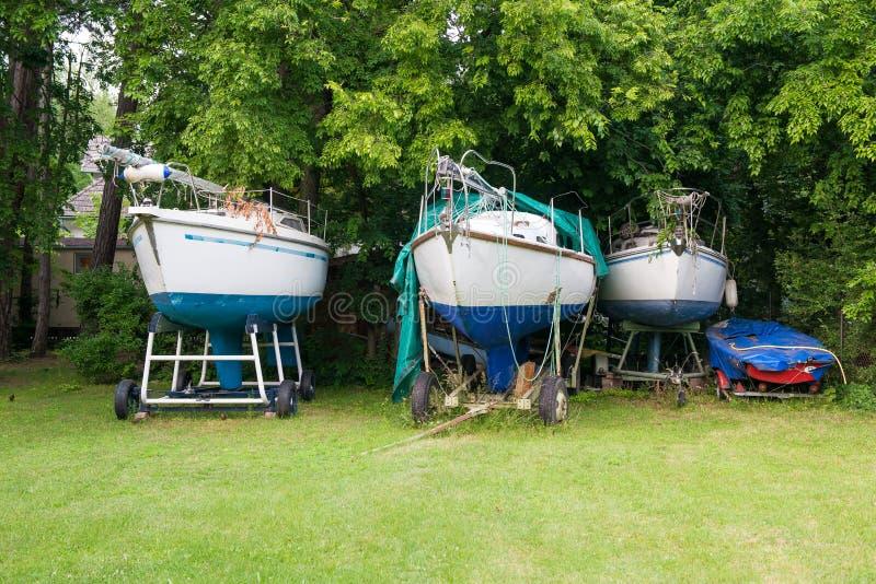 Boote lizenzfreie stockbilder