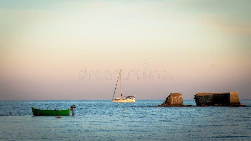 Boote lizenzfreie stockfotos