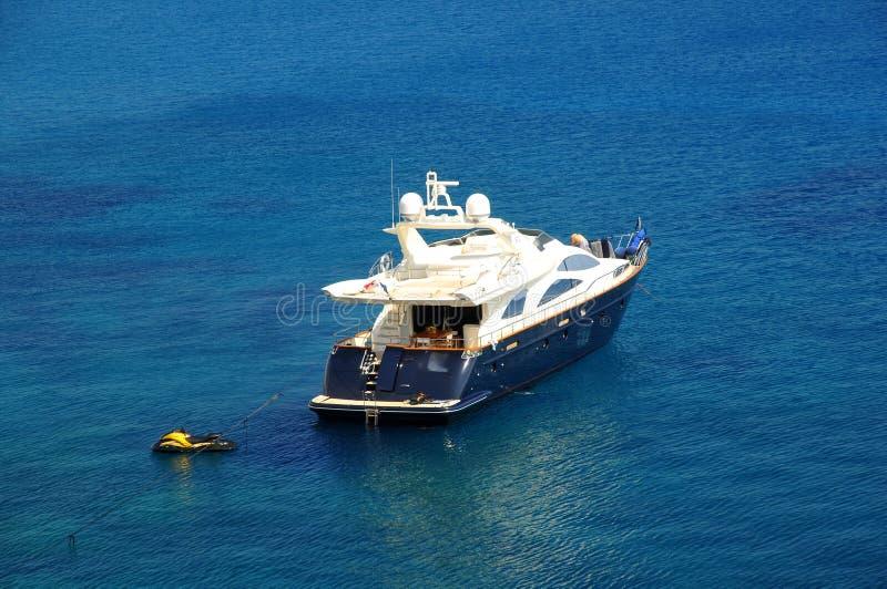 Boote in der Lagune lizenzfreies stockbild
