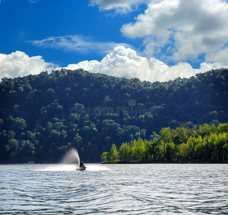 Bootfahrt in Kentucky lizenzfreie stockfotografie