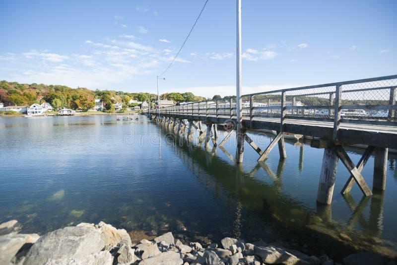 Boothbay, Maine, U.S.A. immagine stock libera da diritti