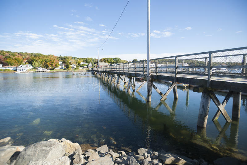 Boothbay, Maine, usa obraz royalty free