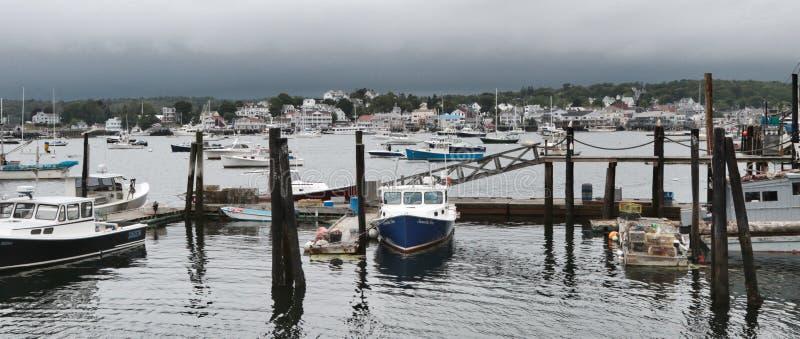 Boothbayhaven, Maine, de V.S. royalty-vrije stock afbeelding