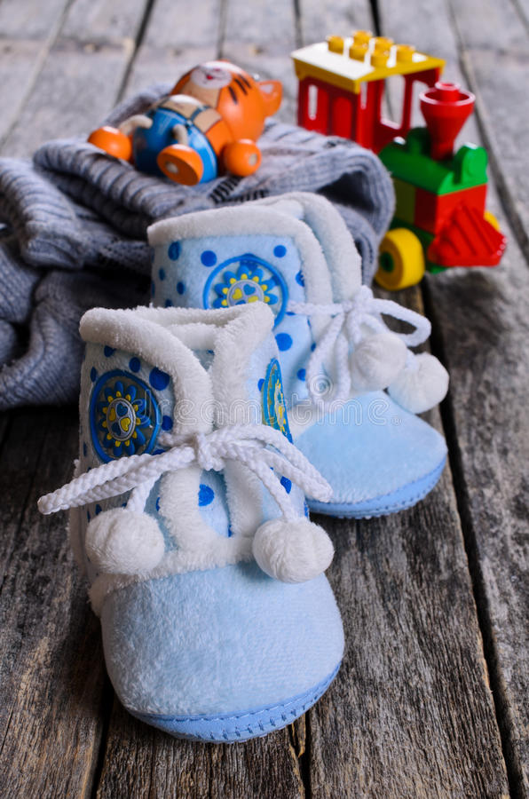 Booties royalty free stock images