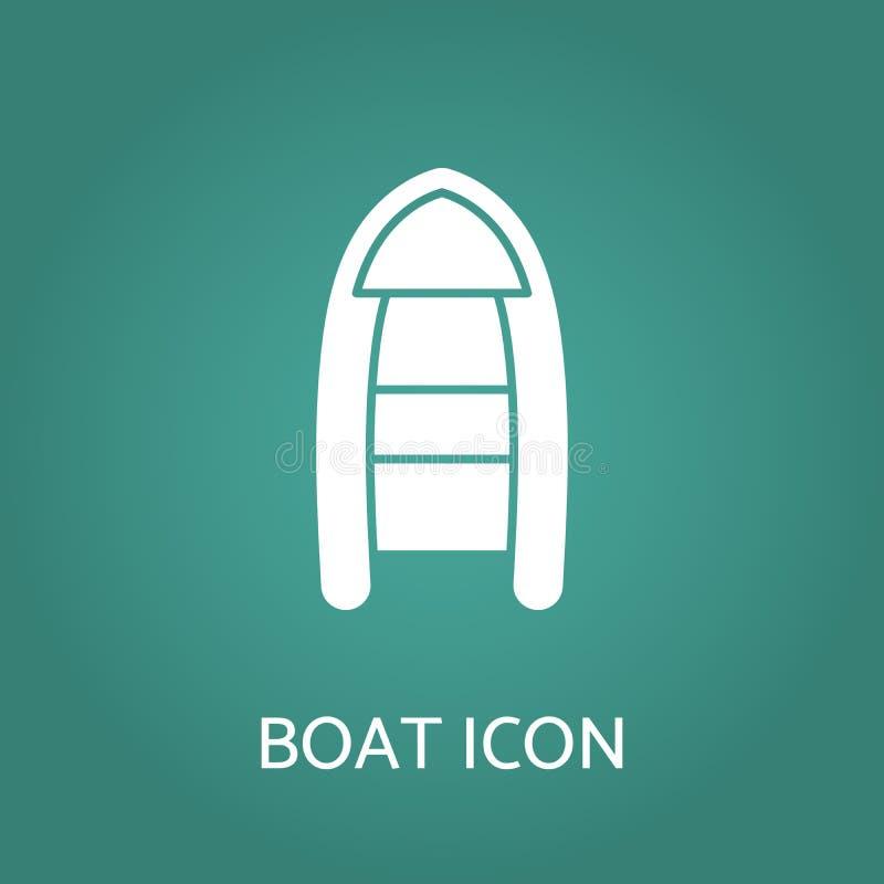 Bootpictogram Vector illustratie stock illustratie