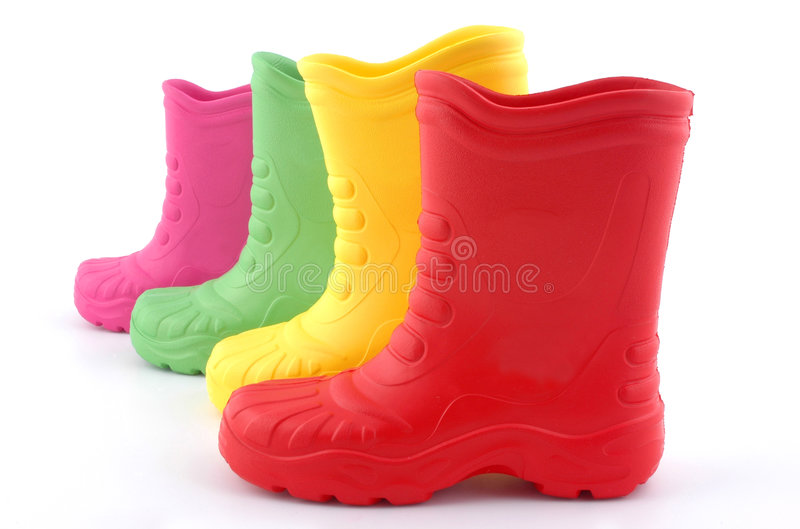 boots дети стоковое изображение rf