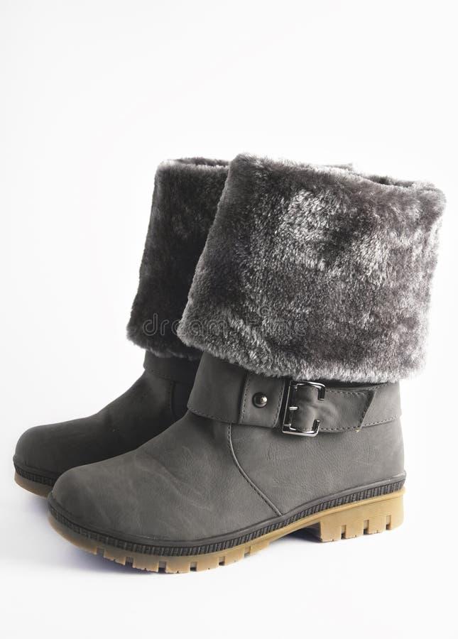 boots женщина зимы стоковое фото