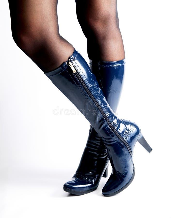 boots женщина стоковое фото
