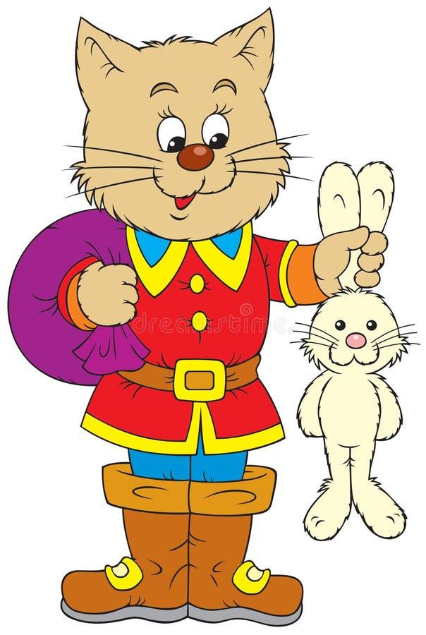 boots кролик puss иллюстрация штока