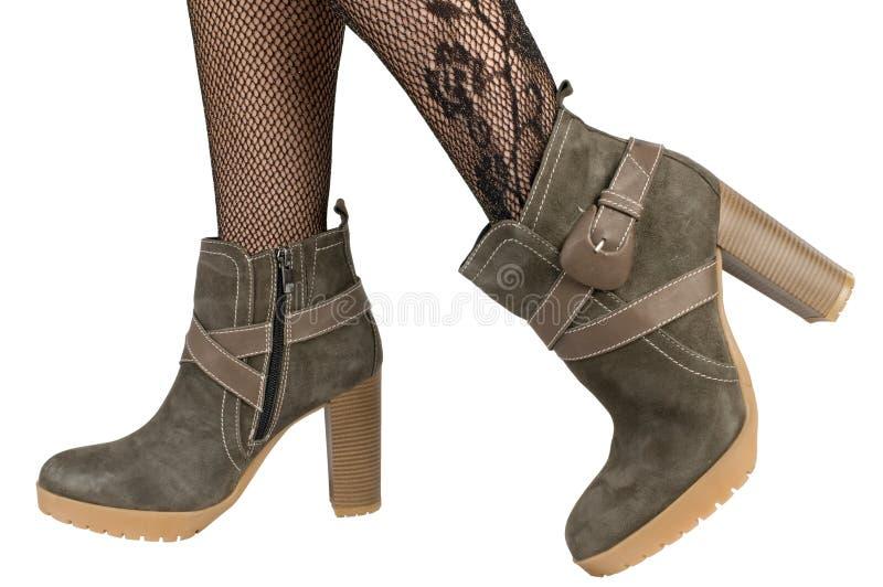 boots ноги женские стоковое фото