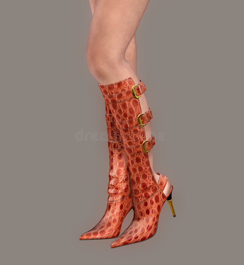 boots сексуальное иллюстрация вектора