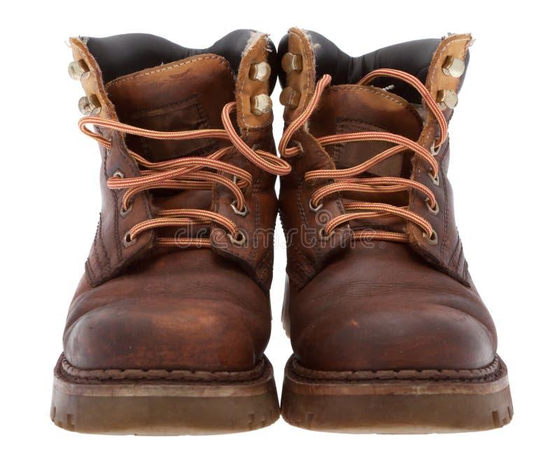 boots старая работа стоковое фото rf
