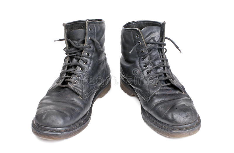 Download Boots stock image. Image of broken, ranger, high, isolated - 20117089