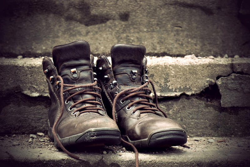Download Boots stock image. Image of robust, leather, worn, boots - 23547311
