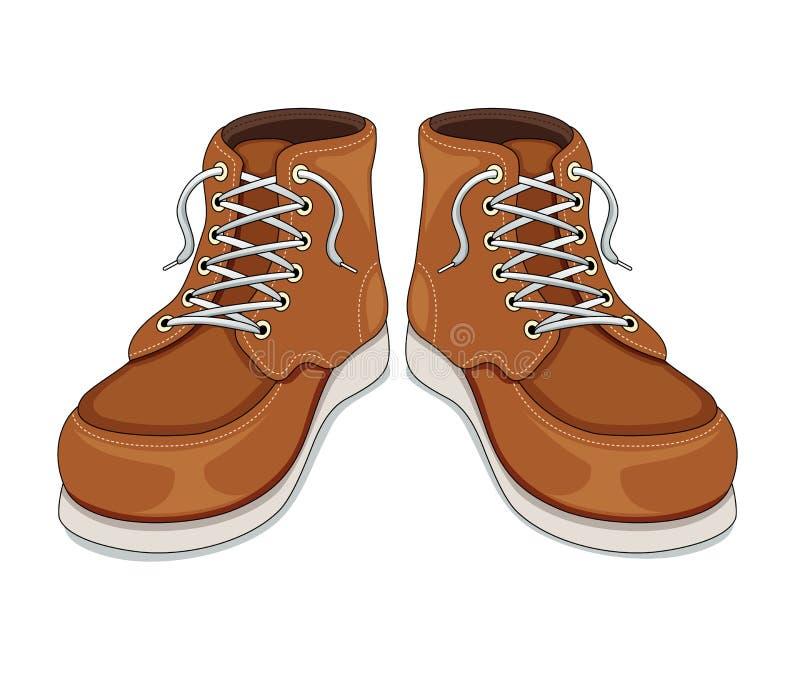 Boots vector illustration