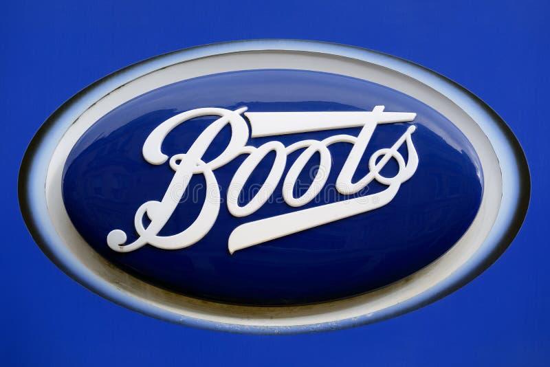 Boots the Chemist Sign, United Kingdom stock image