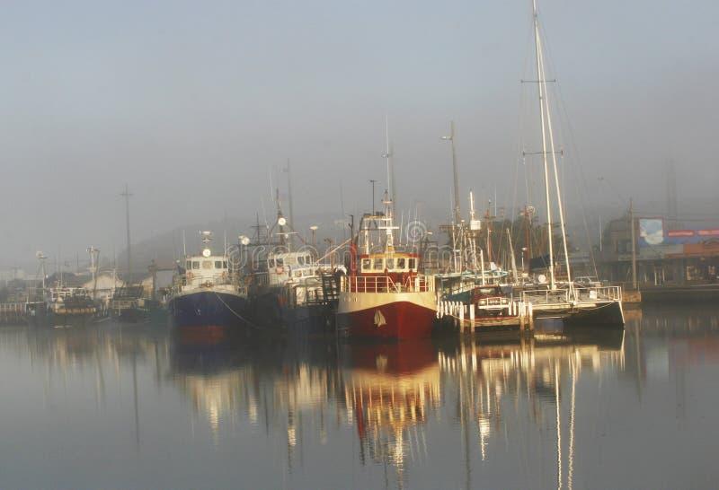 Boots-Hafen stockbilder