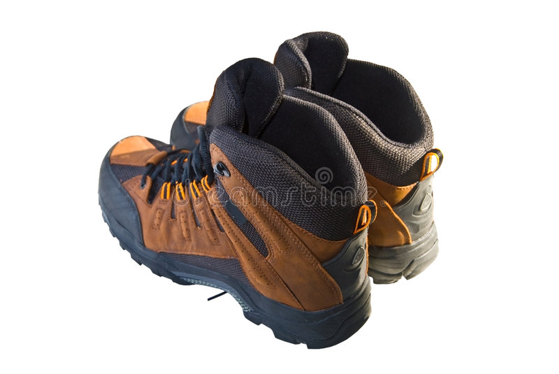 Boots Isolated royalty free stock photo