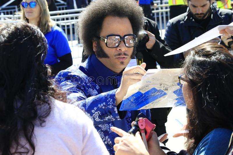 Boots Riley royalty free stock photo