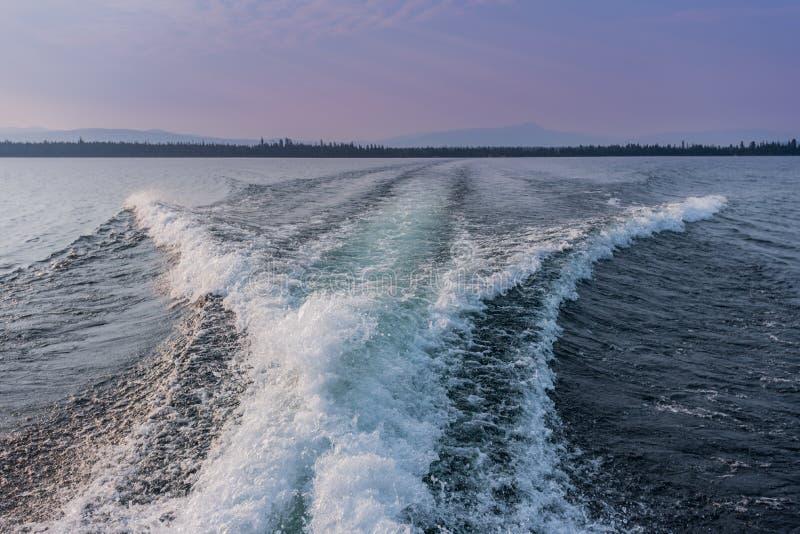 Boots-Spur über Jenny Lake stockbilder