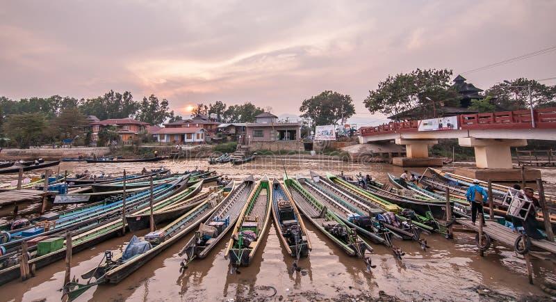 Bootshafen lizenzfreie stockfotografie