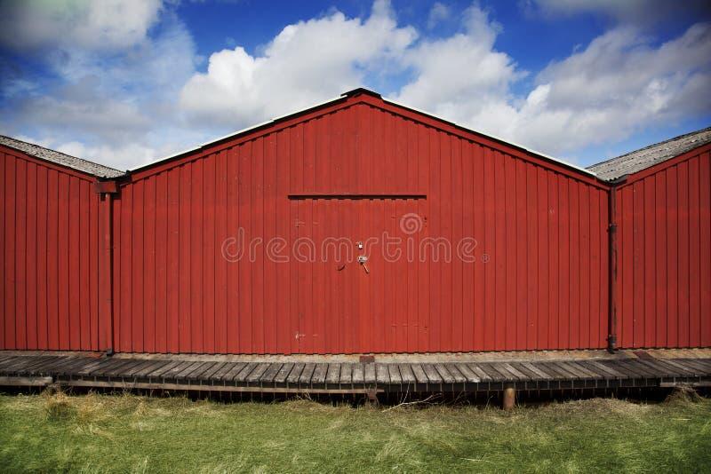 Bootshaus lizenzfreie stockbilder