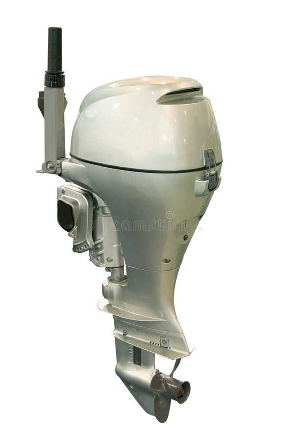 Bootsmotor stockfoto