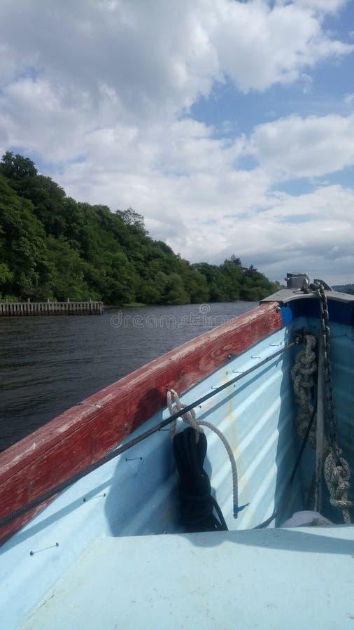 Bootsreise lizenzfreie stockbilder