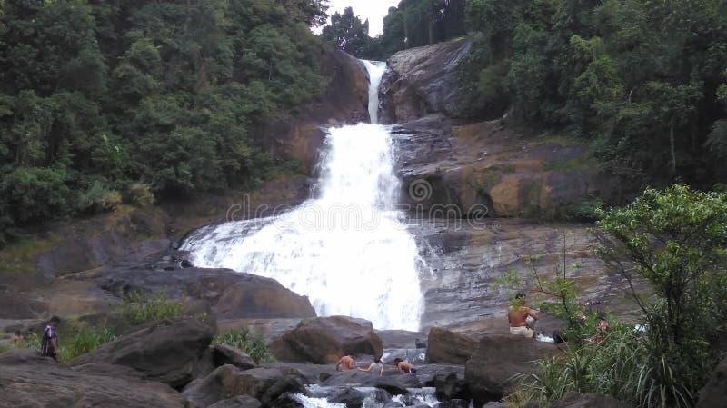 Bopath Ella falls in Sri Lanka royalty free stock images