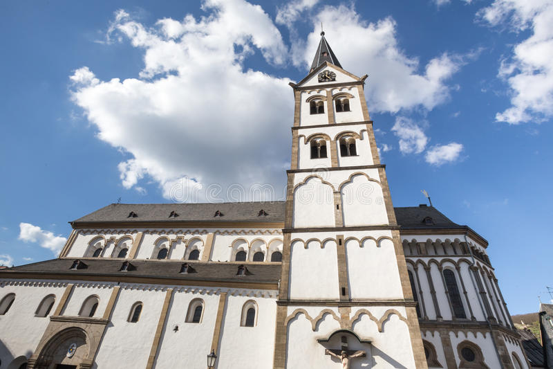 boppard Alemania de la iglesia del severus del st imágenes de archivo libres de regalías