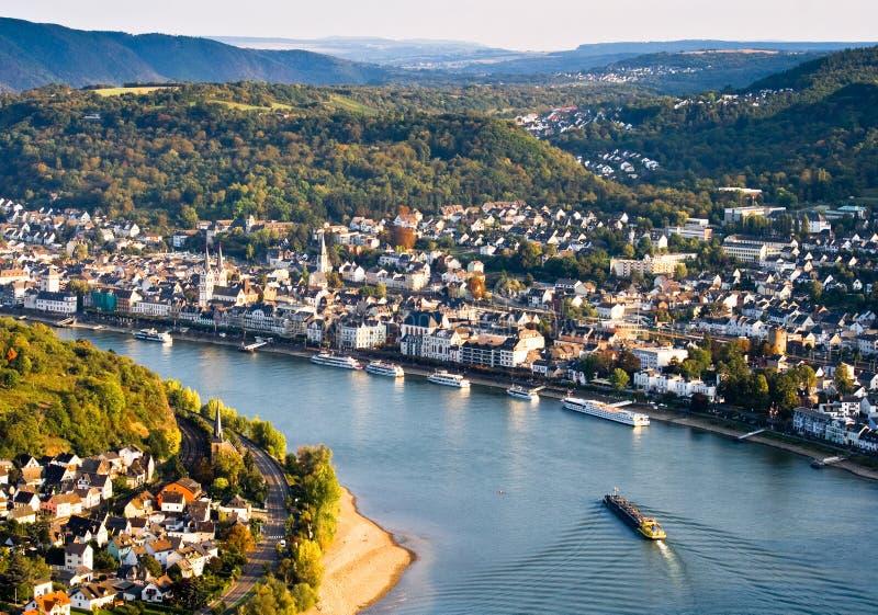 Boppard, Germania immagini stock libere da diritti
