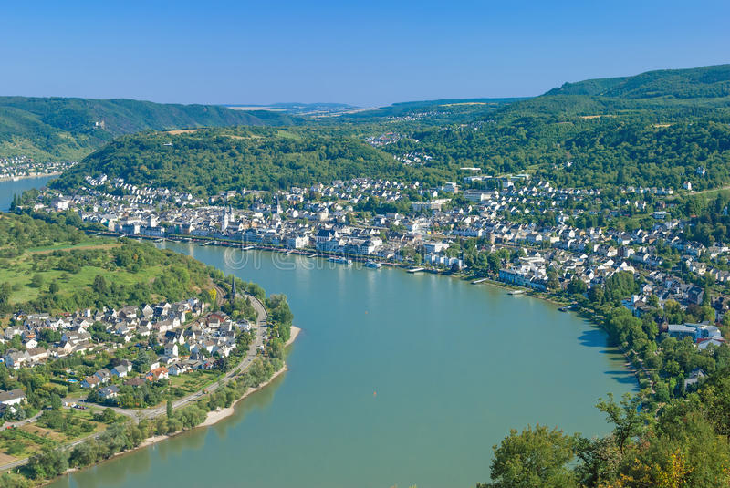 Download Boppard,Rhine River,Germany Stock Image - Image: 37531125