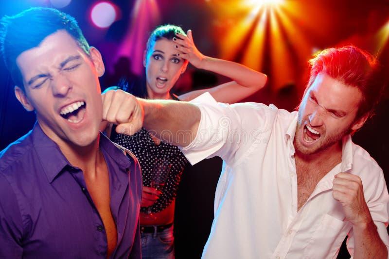 Bopping im Nachtklub stockbild