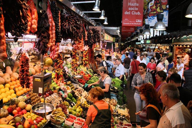 Boqueria, Barcellona fotografie stock libere da diritti