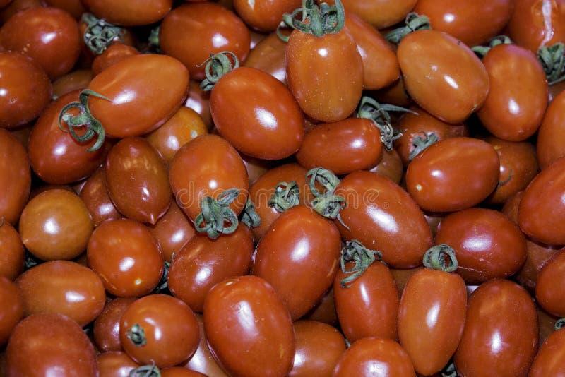 Boqueria Barcelona del supermercado del tomate de Grupo imagen de archivo